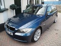 BMW 320d SE Touring - 2005 - Manual - Metallic Blue - Grey Leather Interior