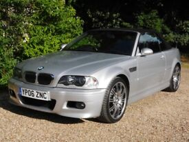 BMW M3 Convertible 6-speed Manual Low Mileage with Hard Top