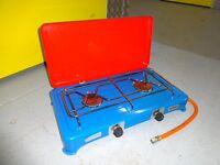 2 ring camping gas cooker