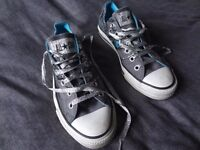 Converse Unisex All Star Trainers with Trendy Print U.K. 6.5