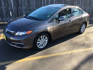 2012 Honda Civic EX-L, Automatic, Navigation, Leather, Only 37,0