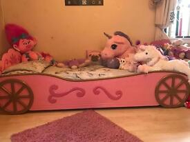 SOLD NOW Single princess carriage bed for sale