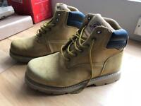 Size 12 Mens Military Tan Boots