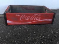 VINTAGE Crates , Retro Coca Cola bottle crates, Storage