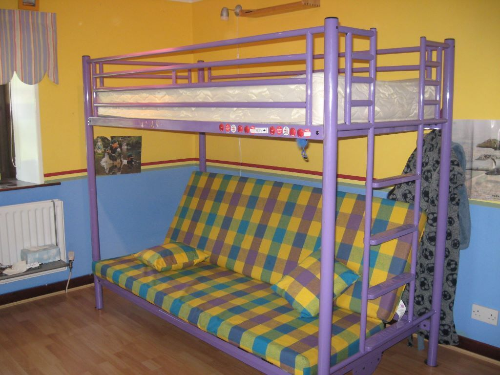 Folding Bunk Bed Jay Be Single Bunk Bed With Fold Out Double Bed In Carlisle