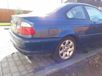 BMW 318ci automatic 2001