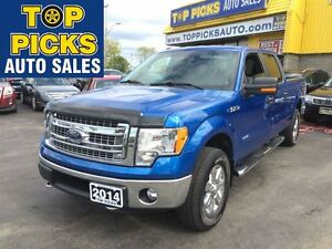 2014 Ford F-150 XTR CREW, BACK UP CAM, POWER SEAT, SYNC, PARK AS