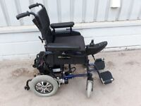 FOLDING ELECTRIC WHEELCHAIR. ideal for stroke patient ** I can deliver ** mobility scooter