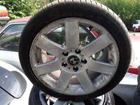 17inc 4 set Bmw wheels 5 studs