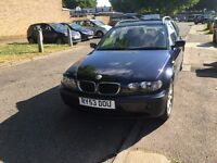 53 Reg BMW 320d SE touring, 6 speed manual, facelift, leather seats