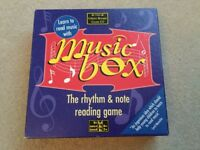 The Green Board Game Co. Music Box The Rhythm & Note Reading Game