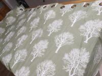 Curtains - sage green