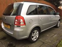 Vauxhall Zafira Exclusive m p v diesel 1.7 63 plate
