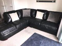 DFS Sofa Leather corner group