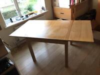 Ikea extendable BJURSTA Table