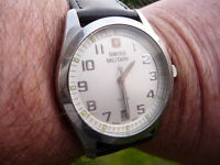 GENTs HANOWA SWISS MILITARY WATCH - SWISS MADE.