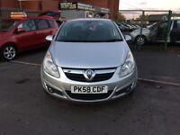 Vauxhall Corsa 1.2 i 16v Design 5dr (a/c) WARRANTED LOW MILEAGE,
