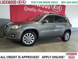 2011 Volkswagen Tiguan HIGHLINE - PANORAMIC ROOF, LEATHER, BLUET