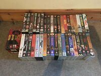 Clint Eastwood VHS video collection 42 movies not DVD