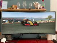 LG Monitor (Ultrawide) Curved QHD