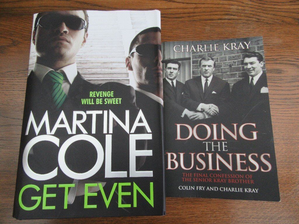GET EVEN BY MARTINA COLE, AND DOING THE