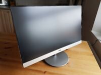 "AOC I2369VM IPS LED 23"" HDMI Monitor with Speakers almost brand new. Even with stickers!"