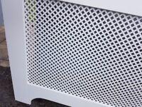 Radiator cover, white