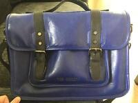 Ted baker Blue leather satchel