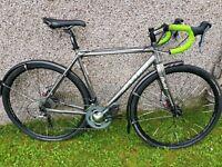 Jamis nova sport cyclocross bike mens medium 54cm. Avid bb7, ultegra, 105, sks and tiagra