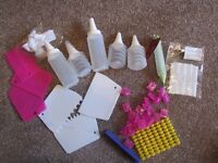Cake decorating items - mostly new but not boxed