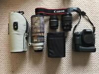 Canon 7D Bundle Mark 1, 300mm F4L, Bag, tripod