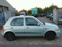2002 Nissan Micra SE 5dr★★★AIR CONDITIONING★★★SUNROOF★★★
