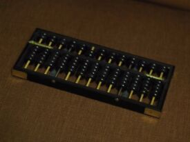 Abacus chinese with booklet