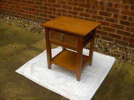 TABLE with draw (Tea Cup Drink Side Cake Wooden ) FREE LOCAL DELIVERY