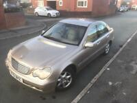 Mercedes c200 kompressor 1owner auto 2.0 £295 swap px