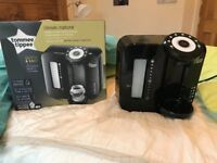 Tommee Tippee Perfect Prep Machine BLACK in original box with instructions