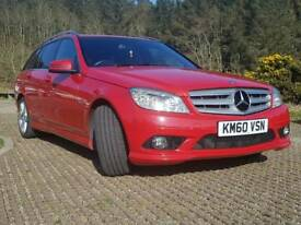 Mercedes C250 BlueEfficiency Sport Cgi petrol/auto estate.