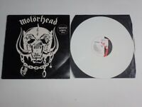 RARE MOTORHEAD WHITE VINYL FEVER LP LIMITED EDITION CWK 3008 1977 CHISWICK RECORDS