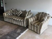 Large sofa sad chair