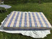 Kozee Sleep Double Mattress with Pine Bed Frame