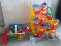 Fisher Price Toy Car Ramp and Car Wash