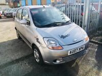 CHEVROLET MATIZ AUTOMATIC PETROL 0.9 5 DOORS LOW MILEAGE LONG MOT