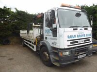 DROPSIDE CRANE LORRY - 2003 IVECO FORD