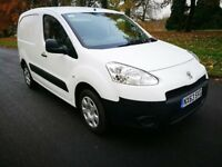 NO VAT 2013 Peugeot Partner 1.6 HDI 92 FSH 1 owner Only 50K clean van - can PX