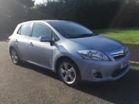 2011 11 reg TOYOTA AURIS Hybrid Electric 1.8 T4 VERY LOW MILEAGE FULL HISTORY ONE OWNER NO TAX
