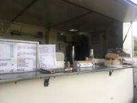 Catering trailer and council pitch based in Congleton Cheshire & weekend pitch