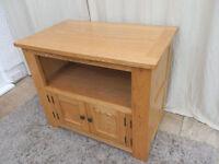 Oak TV Cabinet 2 door