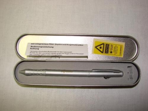 laserpointer als kugelschreiber im attraktiven blechetui in sachsen bautzen ebay kleinanzeigen. Black Bedroom Furniture Sets. Home Design Ideas