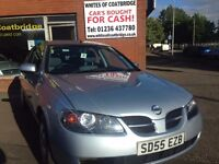 NISSAN ALMERA 1.5 S 5dr - great value for money