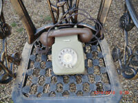 Old fashioned Dial telephone